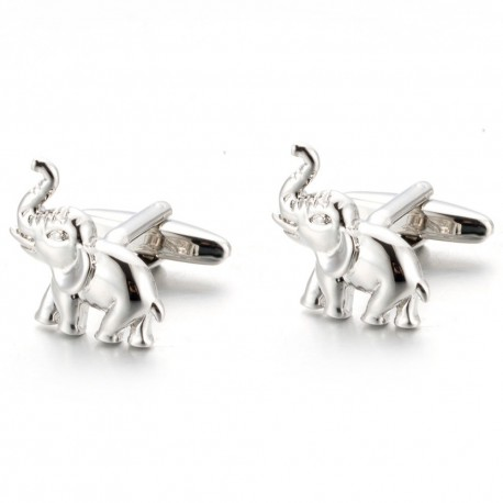 Boutons de Manchette Elephant