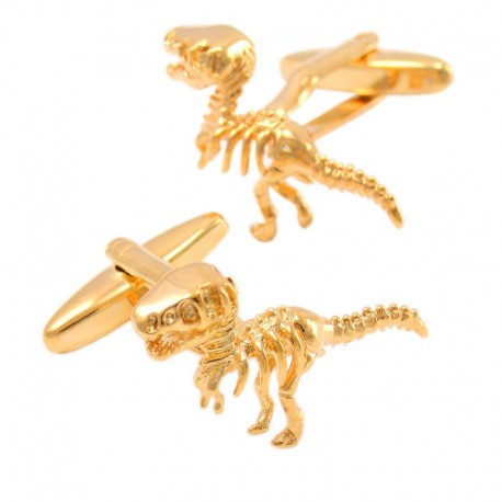 Boutons de Manchette Golden Raptor