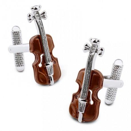 Boutons de Manchette Violon Stradivarius