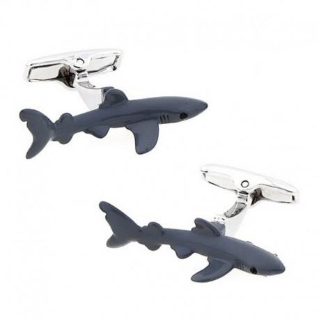 Boutons de Manchette Requin Squale