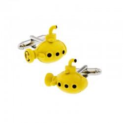 Boutons de Manchette Sous-Marin Yellow Submarine